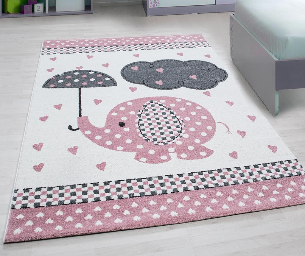 Tepih Elephant Pink 160x230 cm