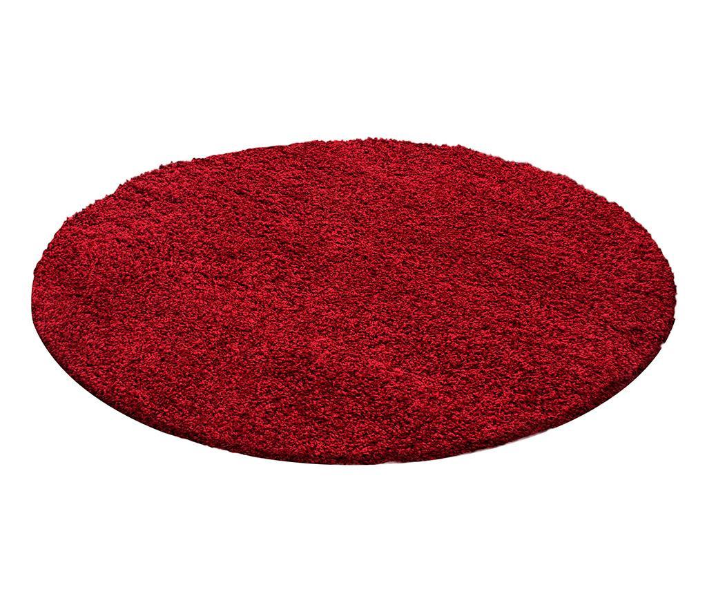 Covor Life Round Red 200 cm