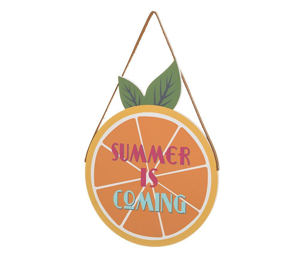Viseći ukras Summer Is Coming Orange