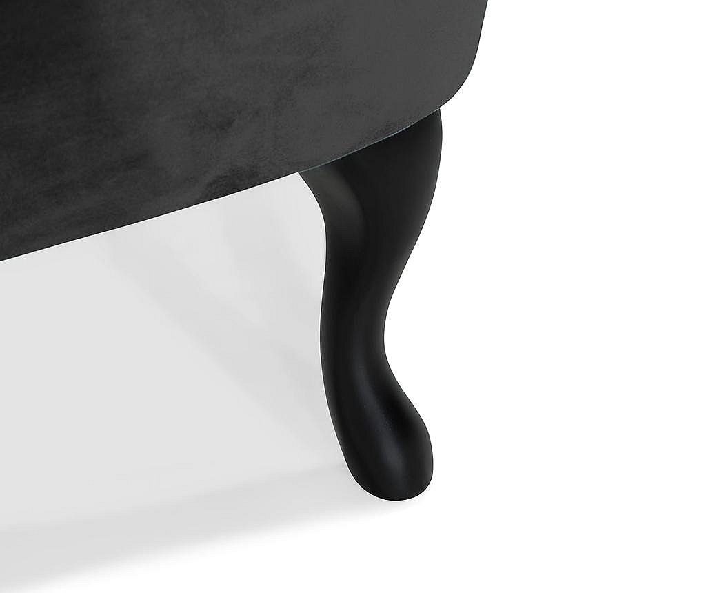 Fotel diYana Soft Black 3H