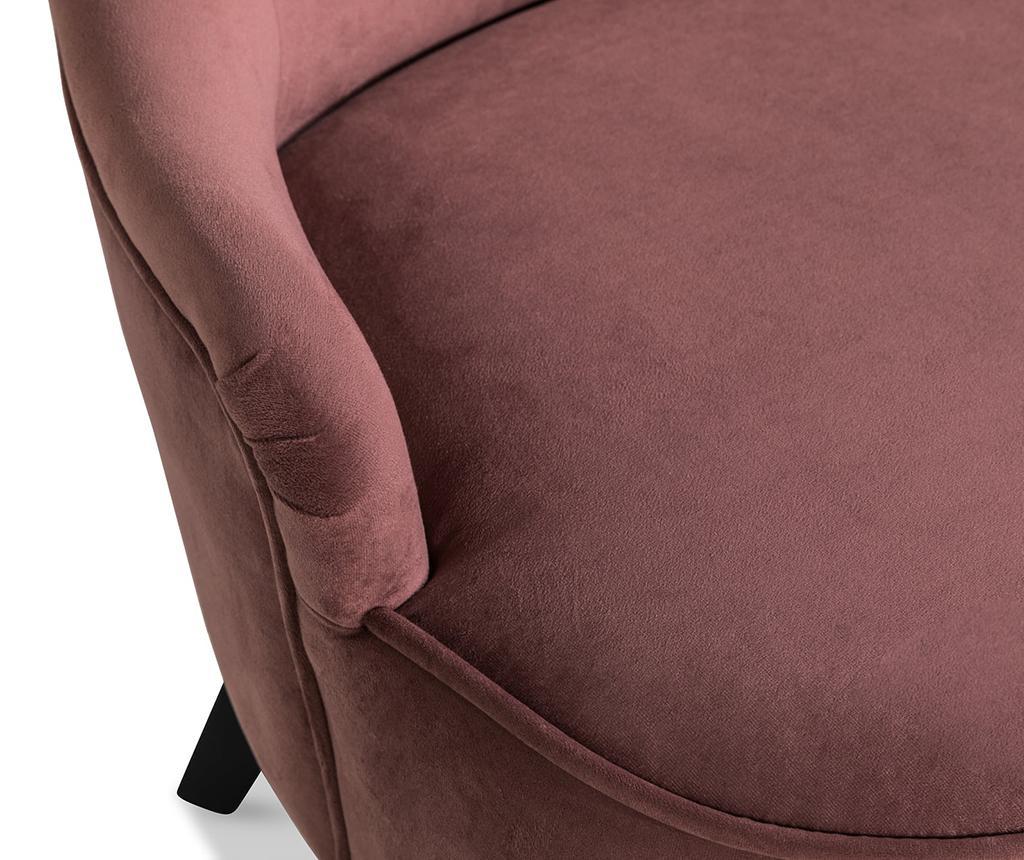 Fotelja diYana Soft Rust Pink 3H