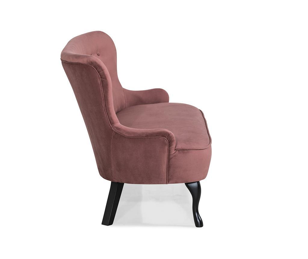 Sofa diYana Soft Rust Pink 3H