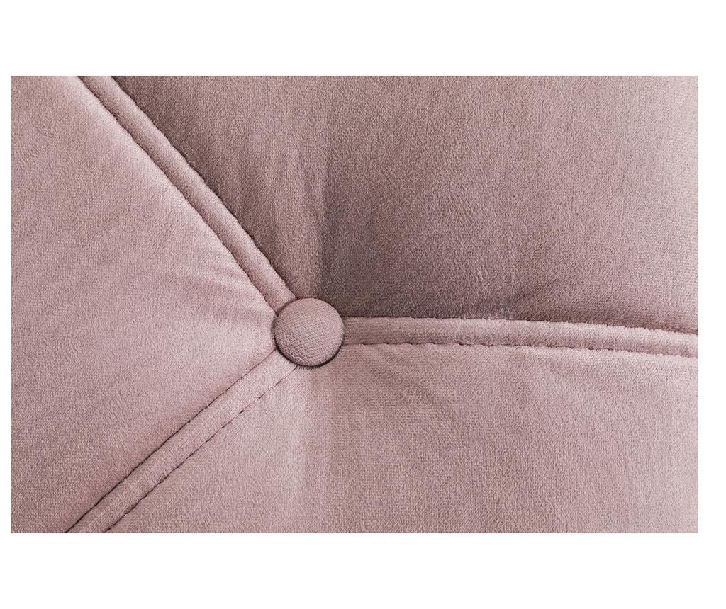 Lehátko do obýváku pravostranné diYana Light Pink