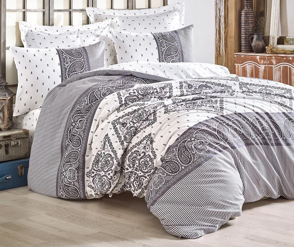 Set posteljina Double Ranforce Design Grey
