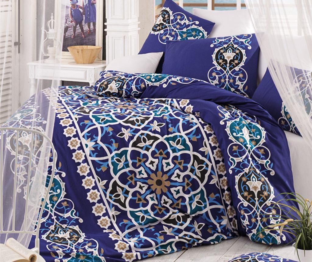 Lenjerie de pat Double  Ranforce Mosaic Purple