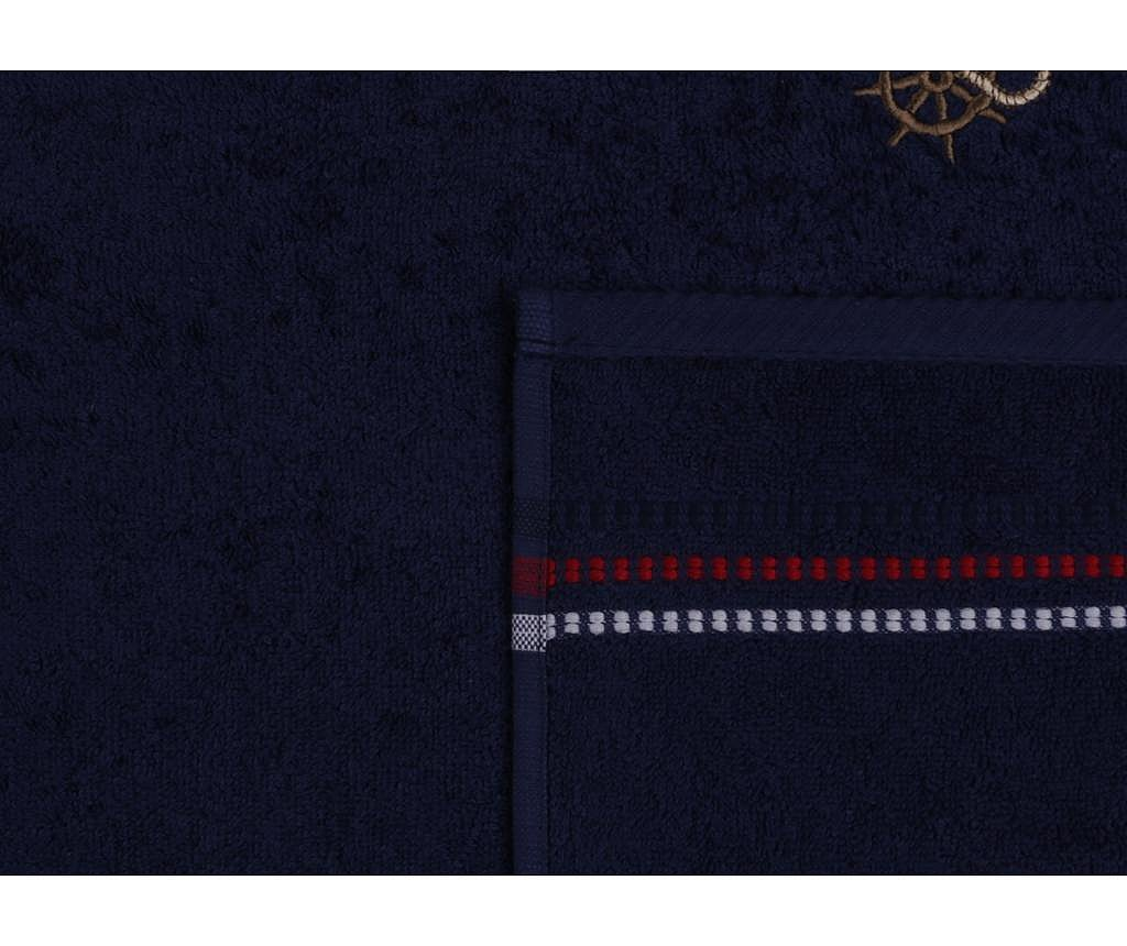 Set 2 prosoape de baie Marina Anchor Dark Blue 50x90 cm