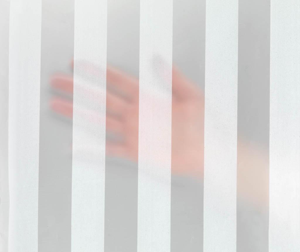 Zasłona prysznicowa Frozen Stripes 180x200 cm