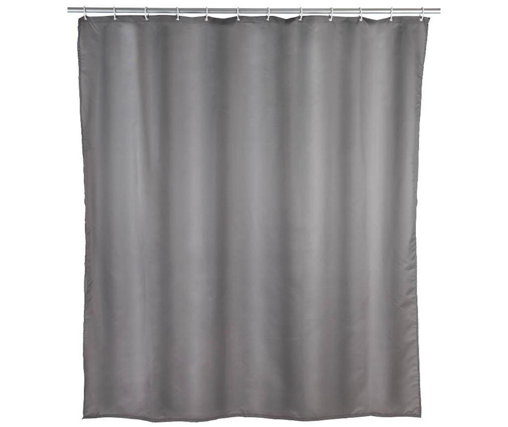 Zasłona prysznicowa Barry Grey 180x200 cm