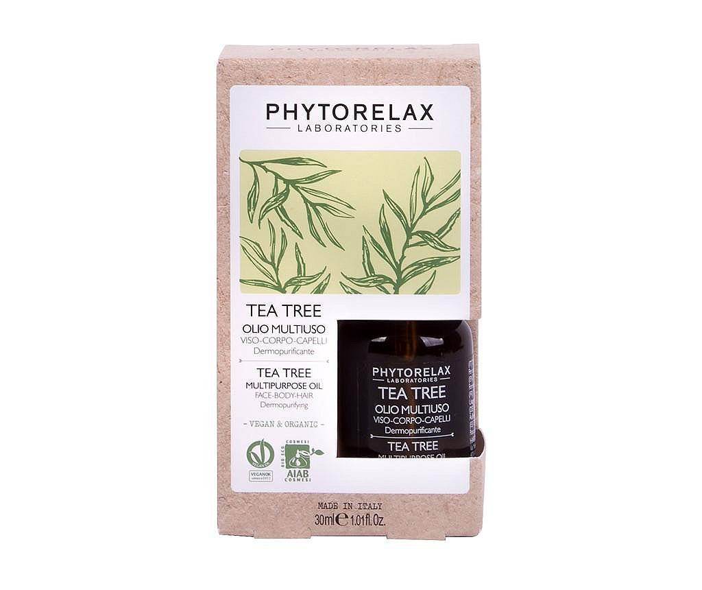Ulei purificator pentru corp si par Phytorelax Tea Tree 30 ml