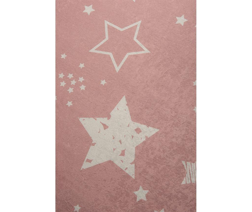 Tepih Stars Pink 100x160 cm