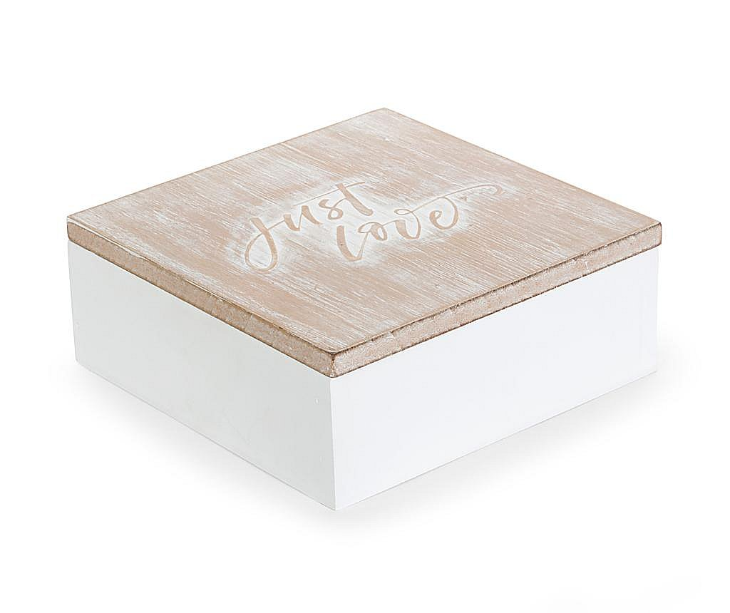 Ukrasna kutija s poklopcem Just Love