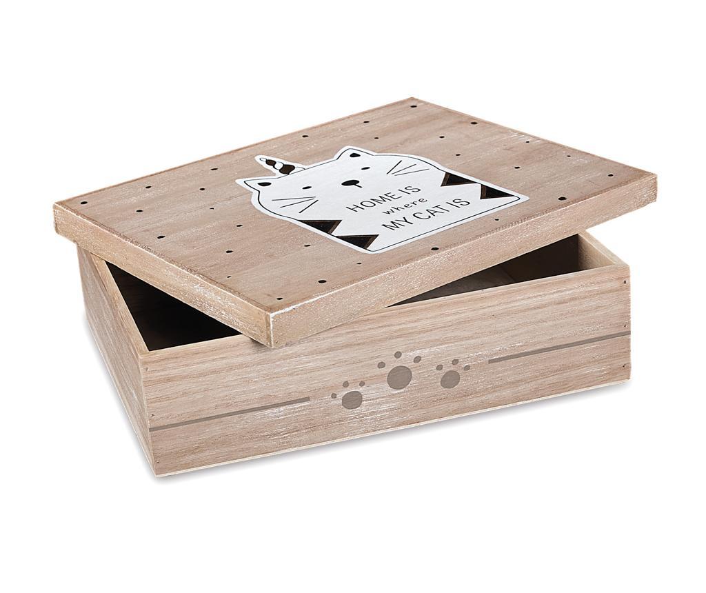 Ukrasna kutija s poklopcem My cats