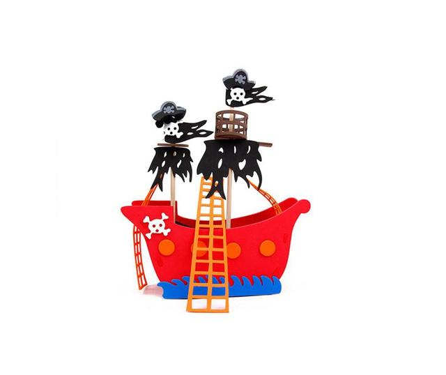 DIY Pirate Treasure Dekoráció