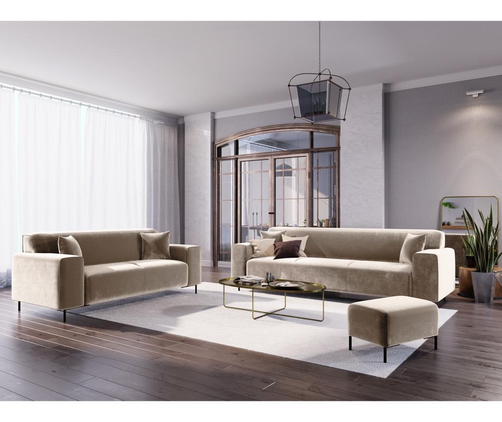 Canapea 2 locuri Parma Beige