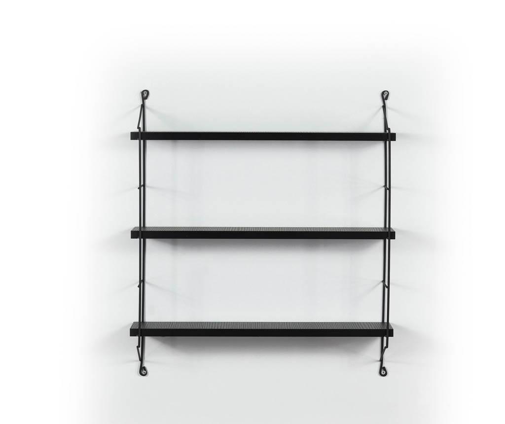Raft de perete Illia Ladder Black