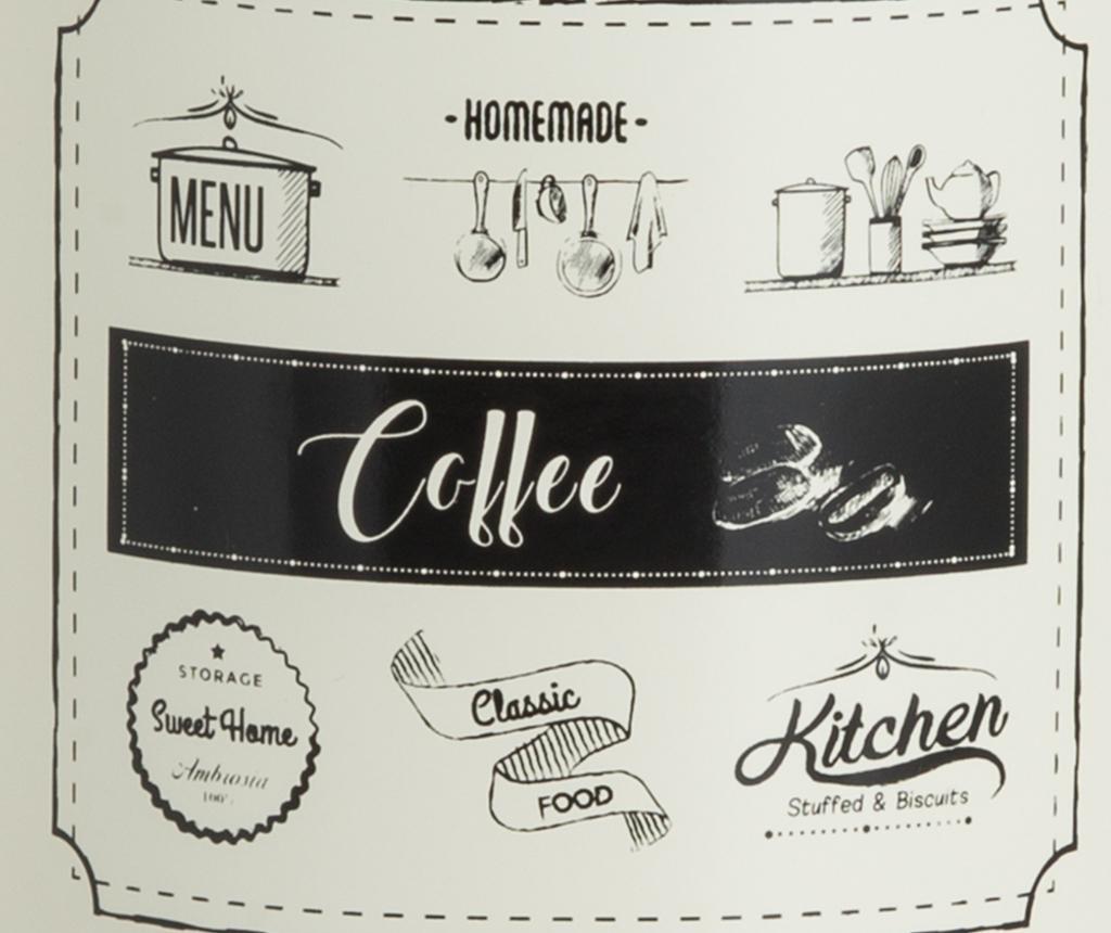 Recipient cu capac pentru cafea Sweet Home