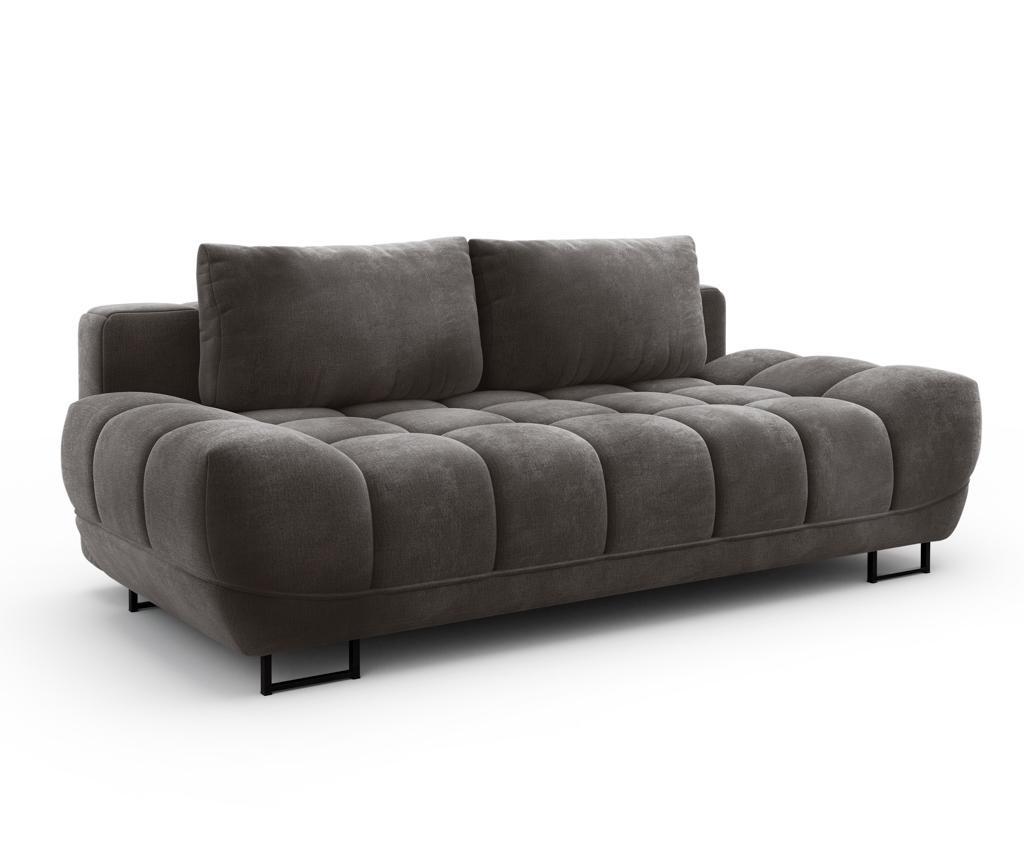 Canapea extensibila 3 locuri Cirrus Dark Brown
