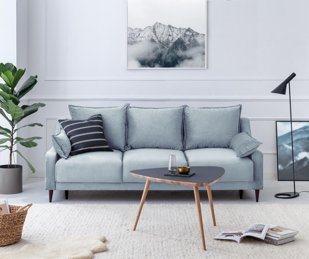 Rozkładana kanapa 3-osobowa Freesia Light Blue