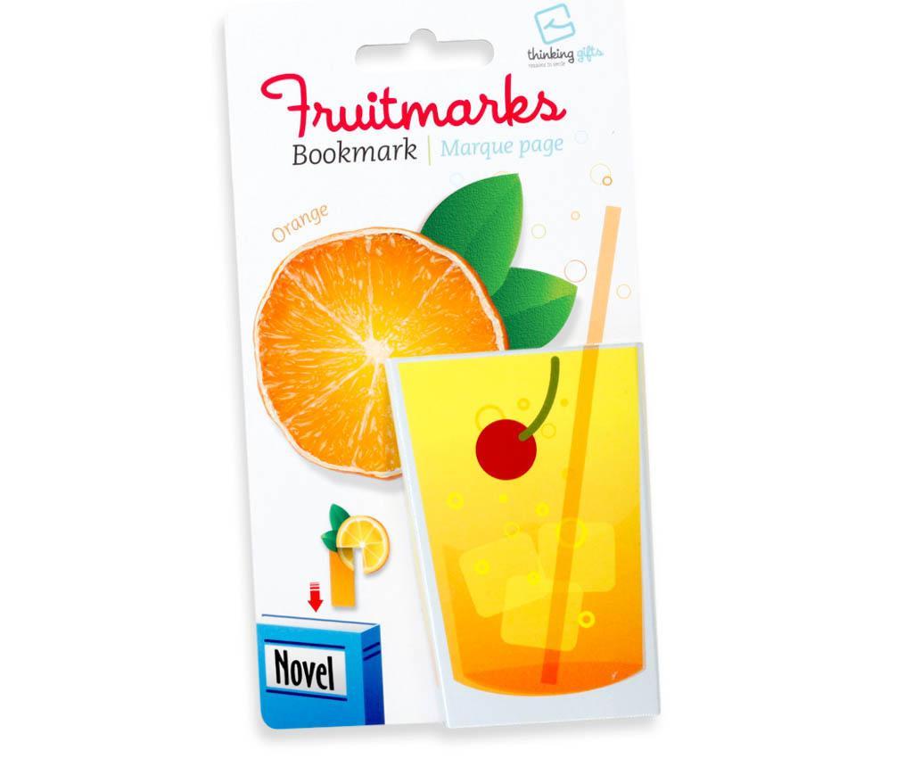 Semn de carte Fruitmark Orange