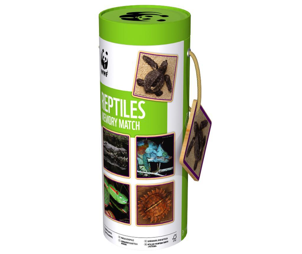 Joc de memorie Reptilles Matching