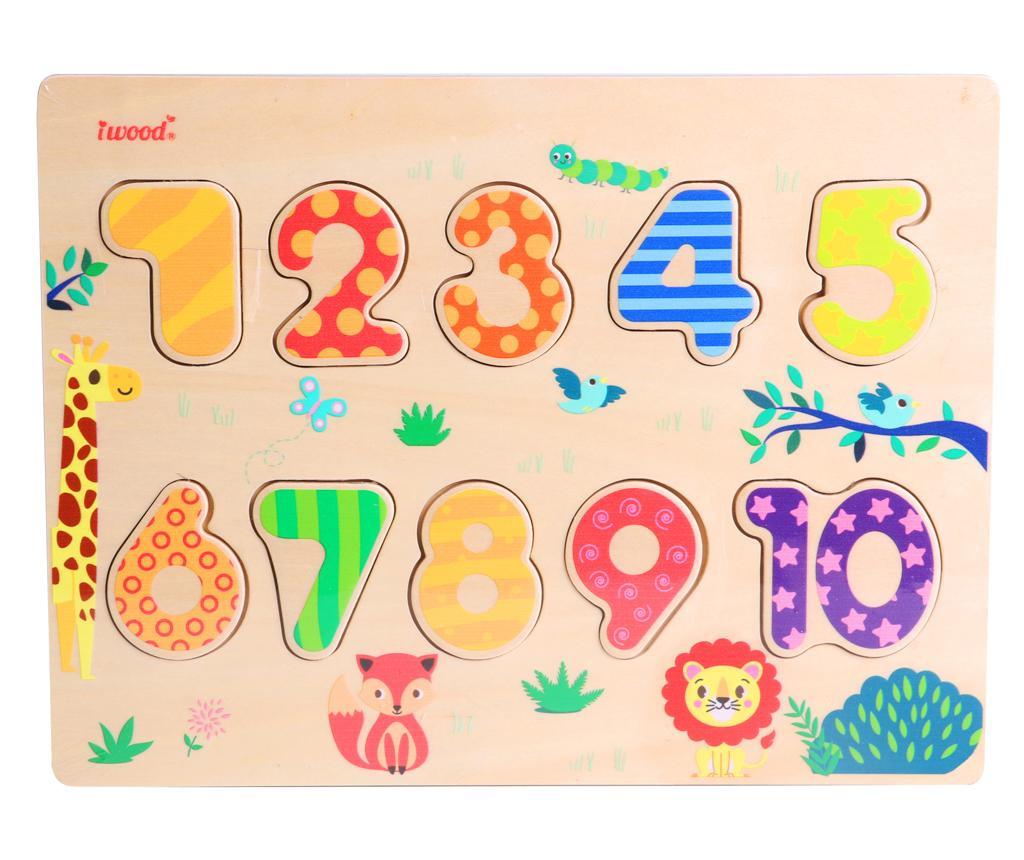 Joc tip puzzle 10 piese Numbers
