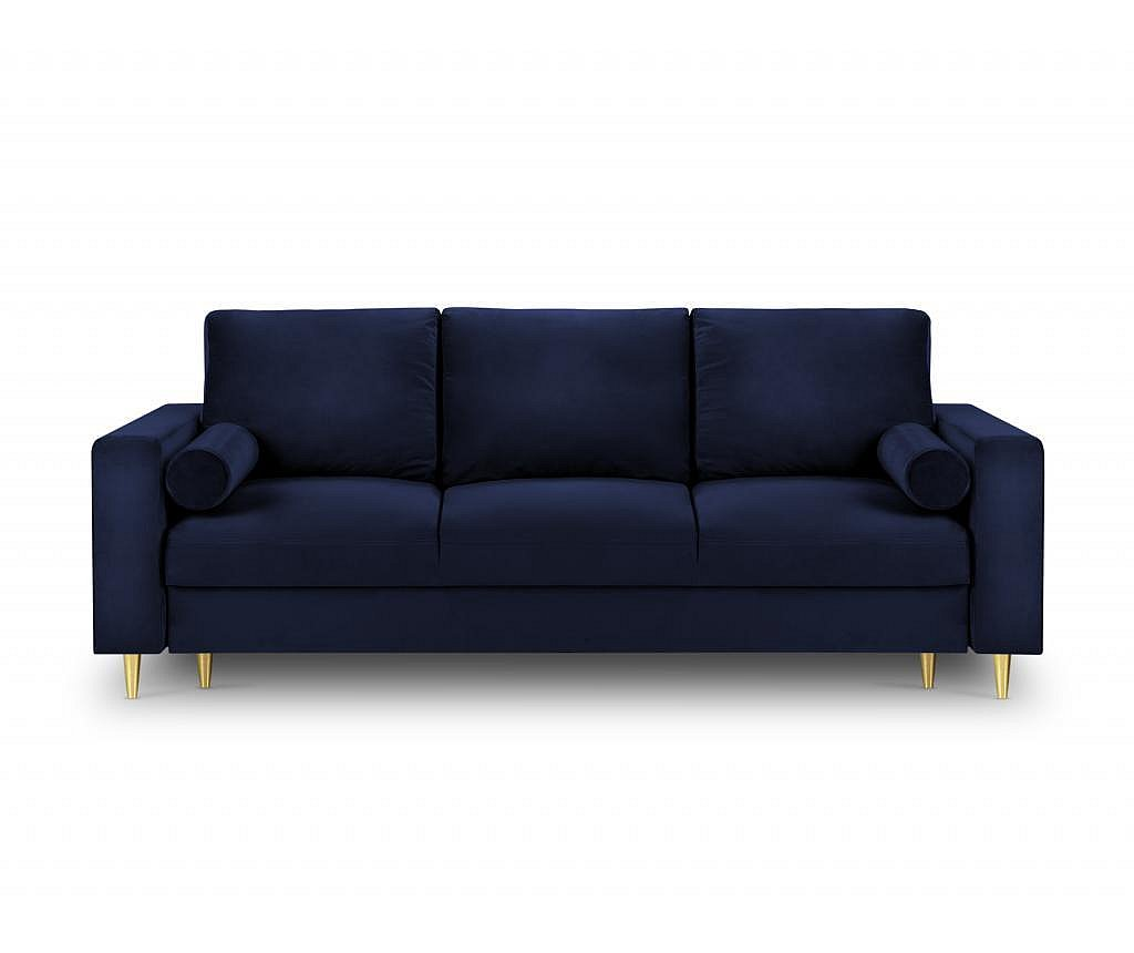 Canapea extensibila 3 locuri Mimosa Royal Blue
