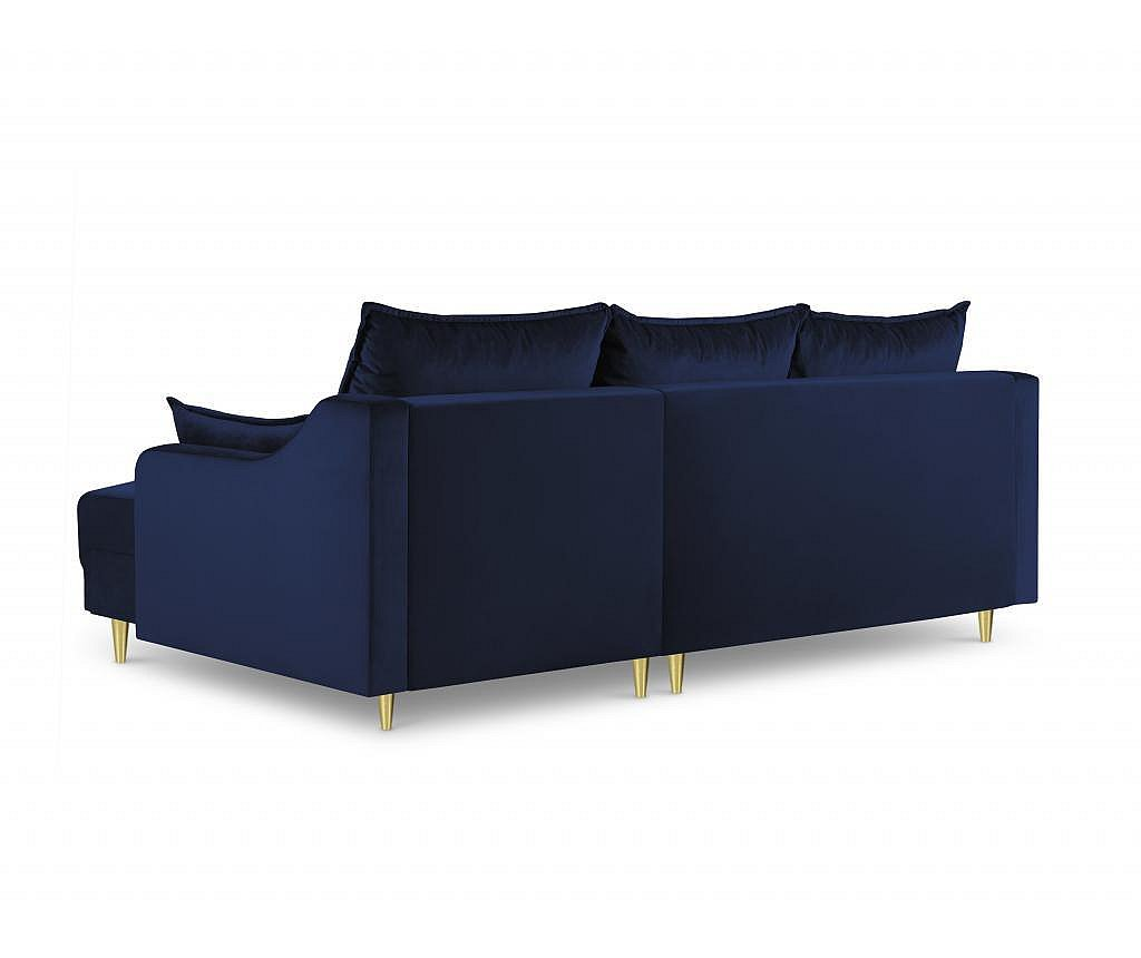 Reverzibilni kutni četvorosjed na razvlačenje Pansy Royal Blue