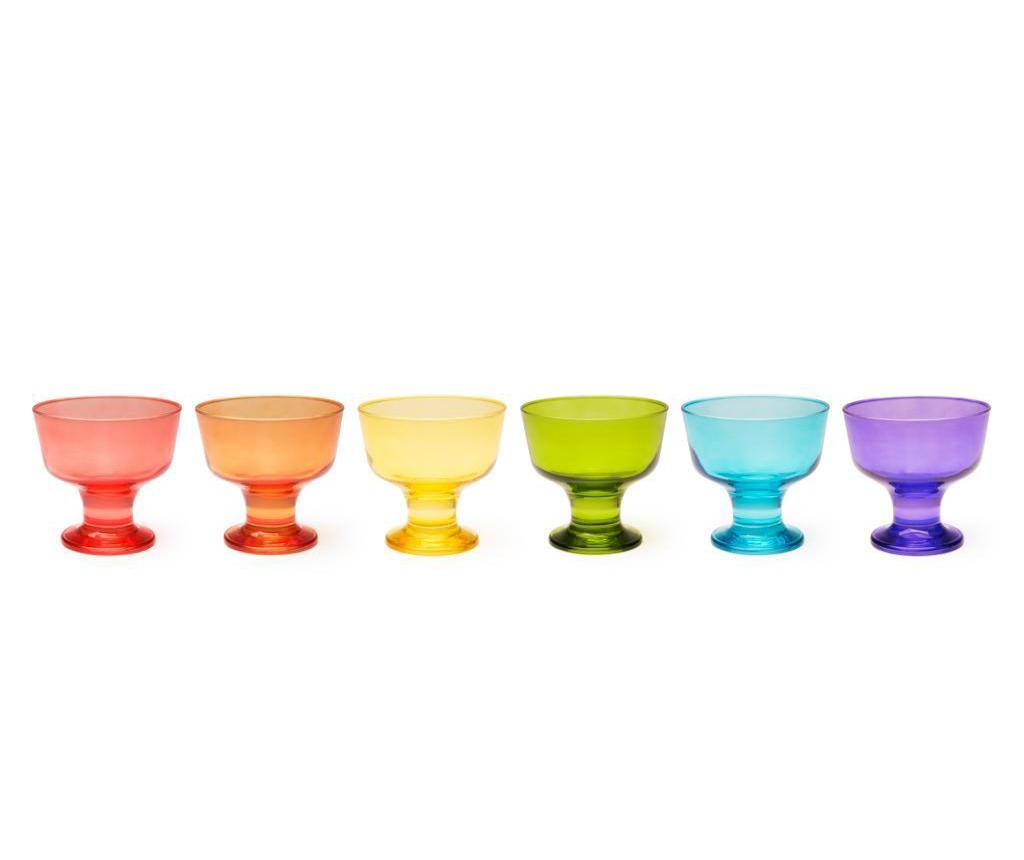 Set 6 cupe pentru inghetata Bilbao