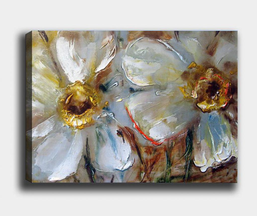 Tablou Flowers 100x140 cm