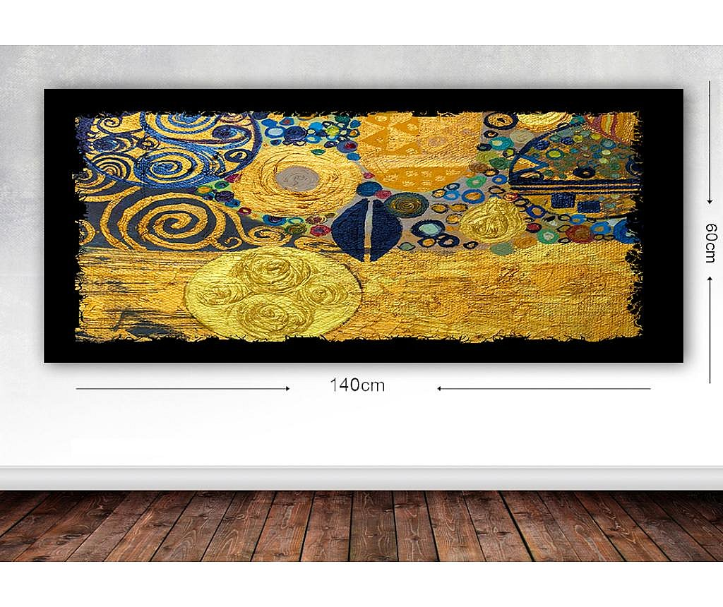 Tablou Klimt Style 60x140 cm