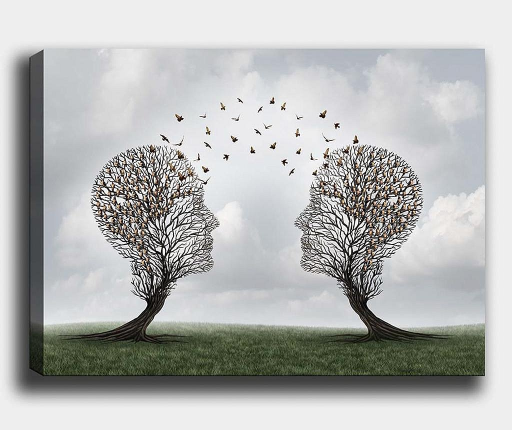 Tablou Tree-Bird 40x60 cm