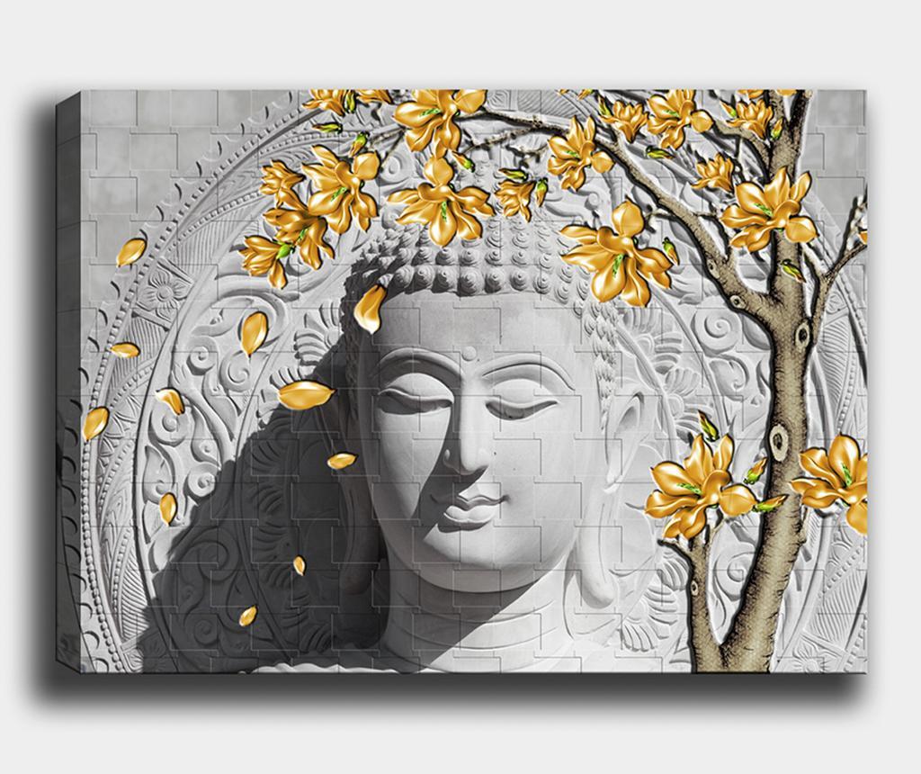 Tablou Golden Buddha 50x70 cm