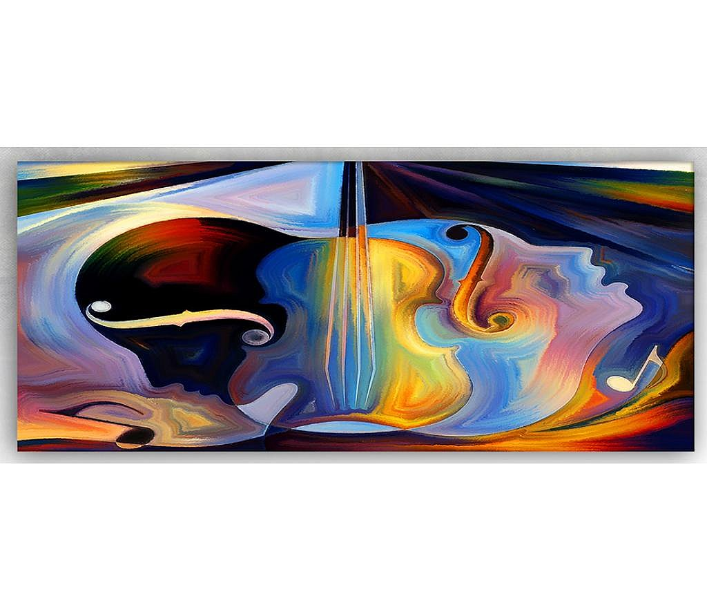 Tablou Music In Head 60x140 cm