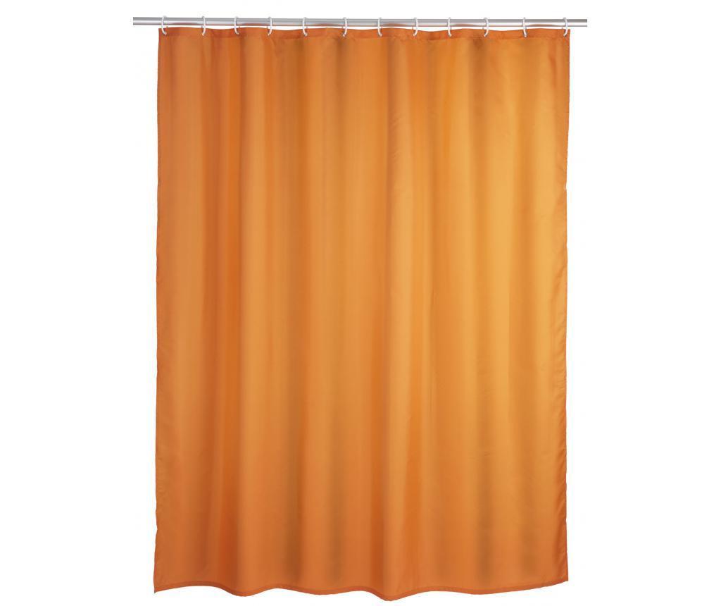 Zasłona prysznicowa Kim Orange 180x200 cm