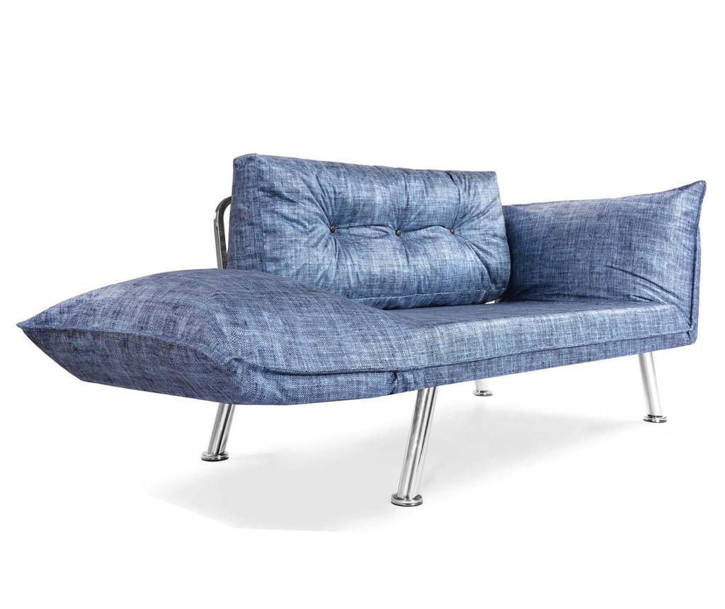 Canapea extensibila Denim Blue