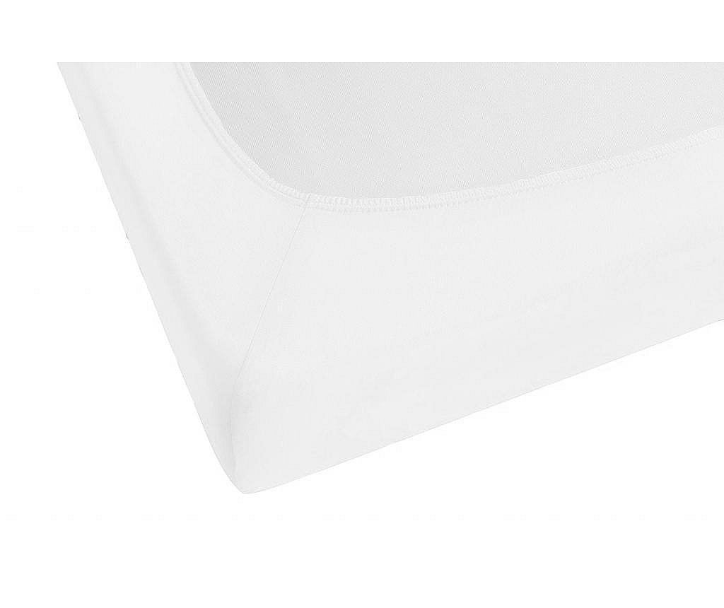 Plahta s elastičnom gumicom White 100x200 cm