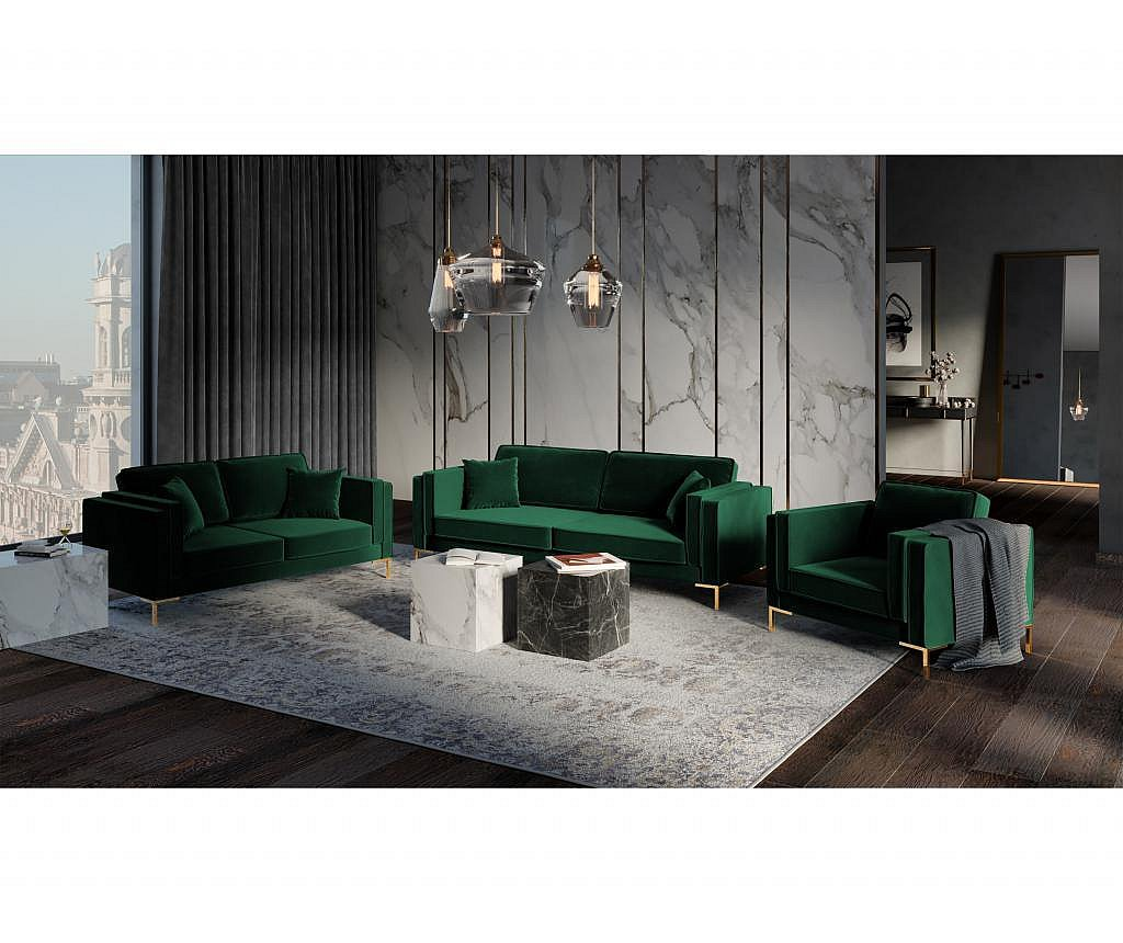 Fotelja Giuseppe Bottle Green