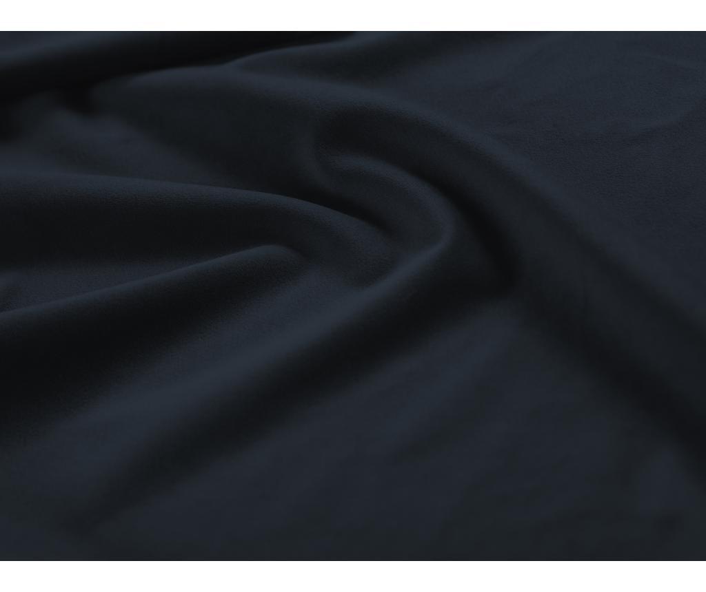Разтегателен ляв ъглов диван Valentina Dark Blue
