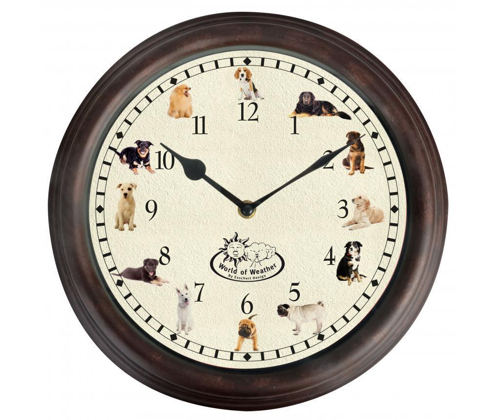 Zegar ścienny Dog Sounds