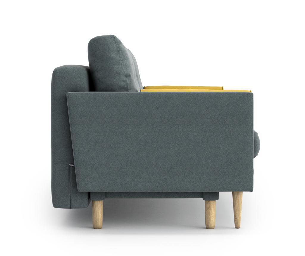 Canapea extensibila 3 locuri Amy Blue