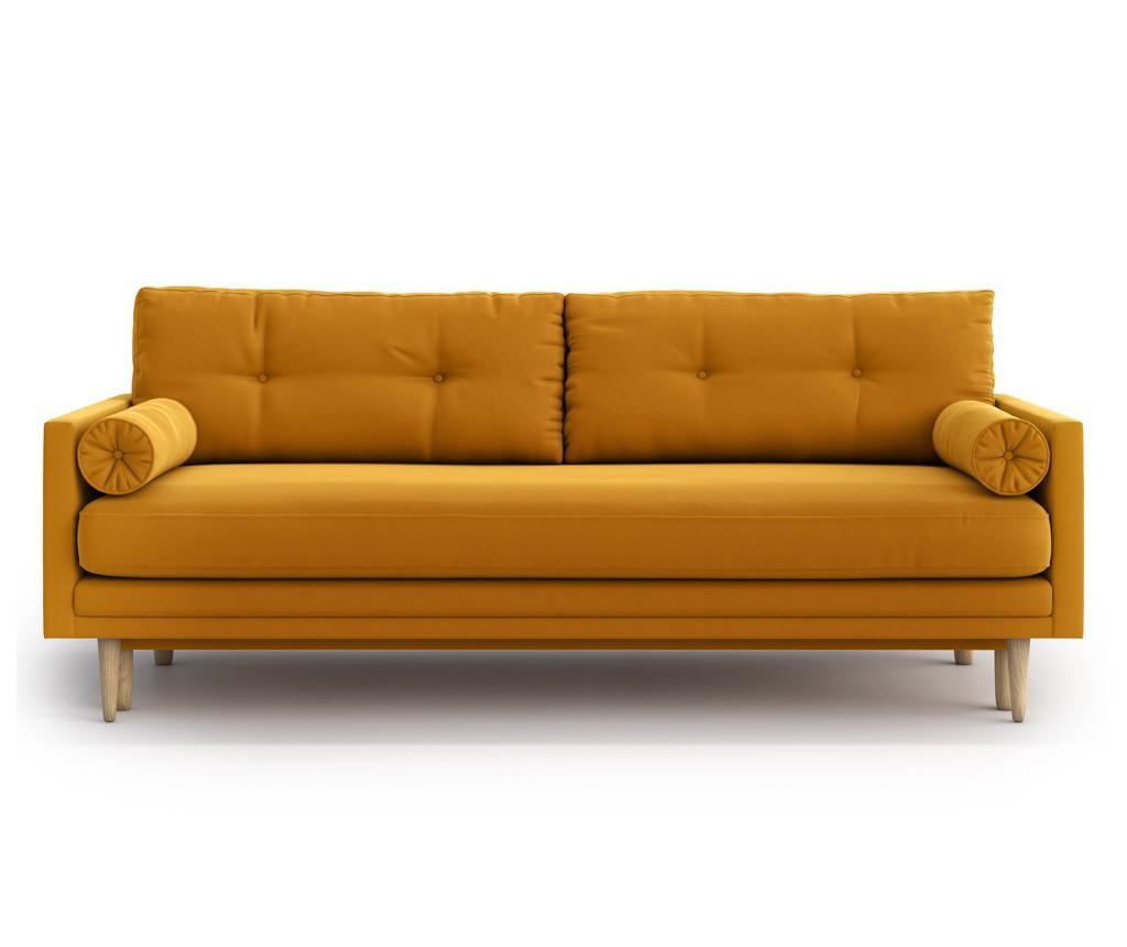 Canapea extensibila 3 locuri Amy Gold