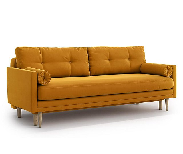 Amy Gold Kihúzható háromszemélyes kanapé