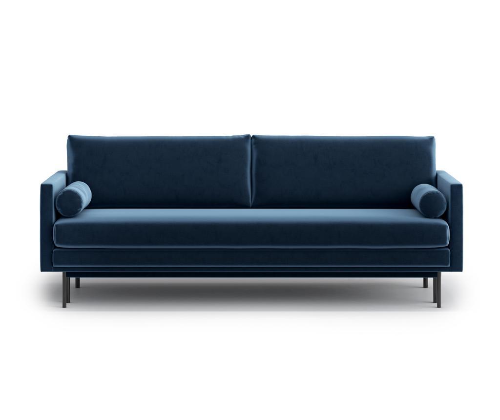 Canapea extensibila 3 locuri Blues Blue