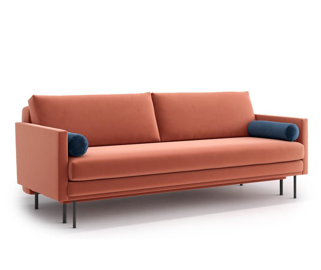 Canapea extensibila 3 locuri Blues Pink