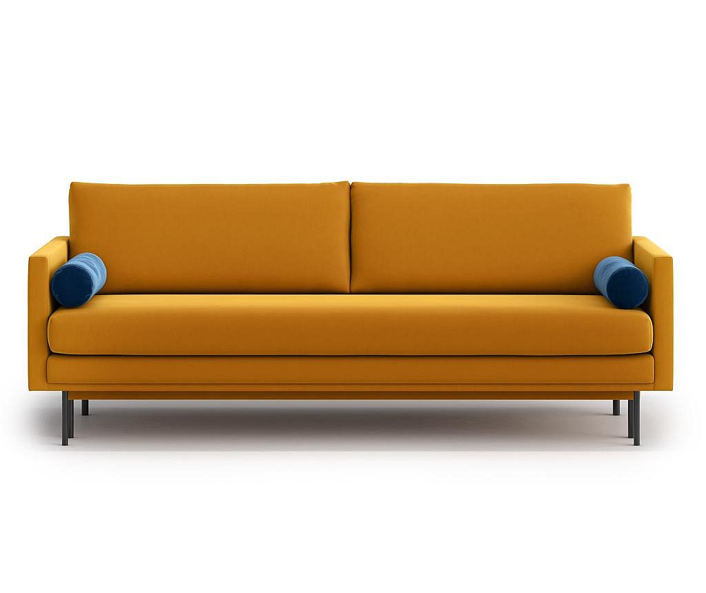 Canapea extensibila 3 locuri Blues Gold