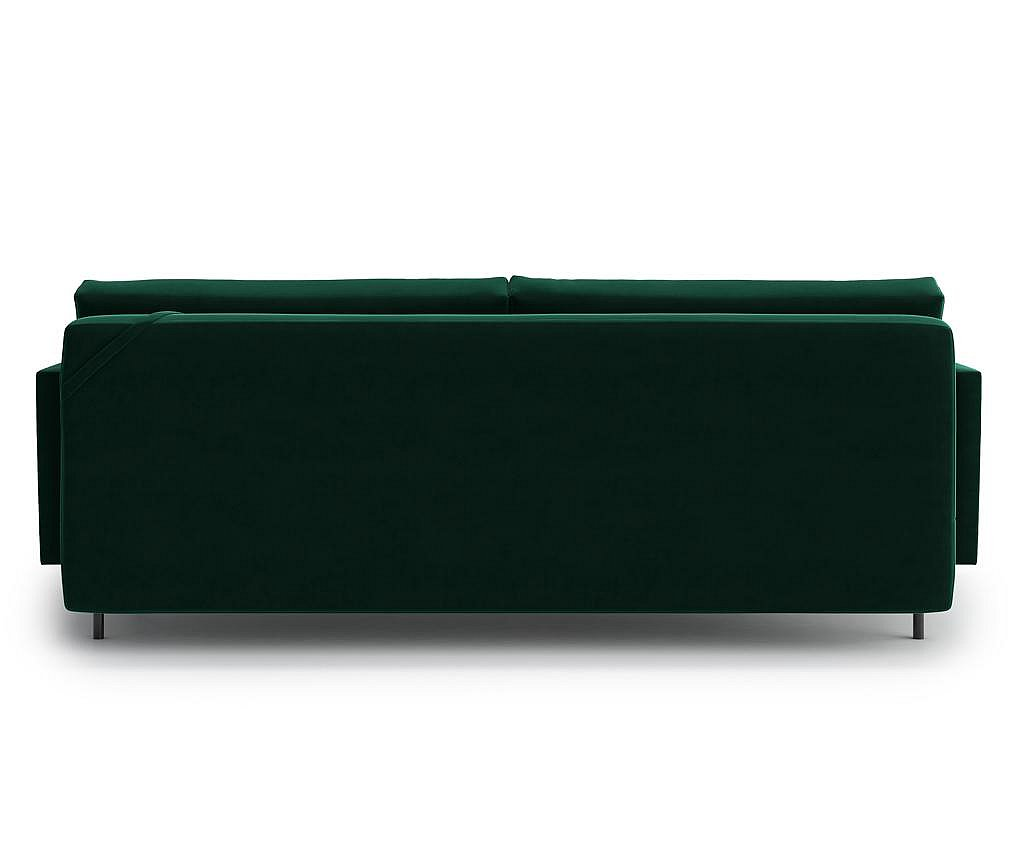 Canapea extensibila 3 locuri Blues Green