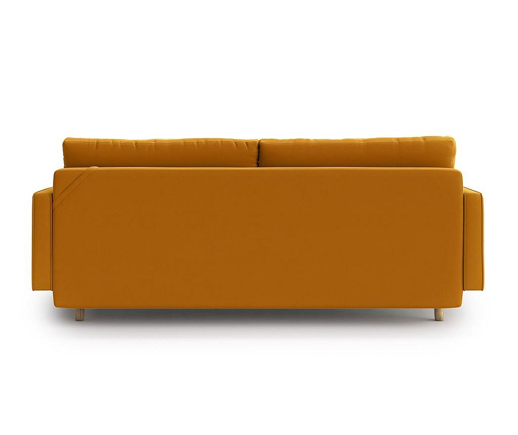 Canapea extensibila 3 locuri Esme Gold