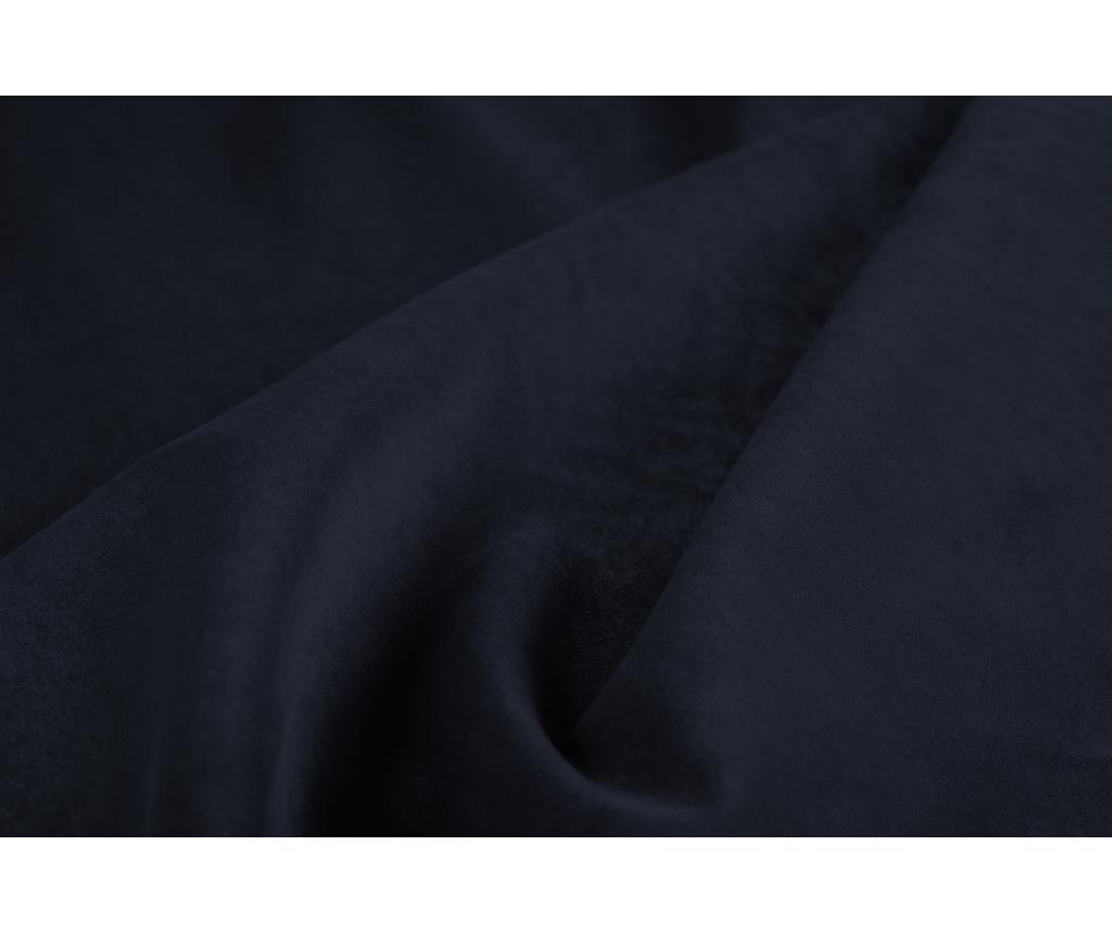 Rohová rozkládací pohovka levostranná šestimístná Gaia  Dark Blue