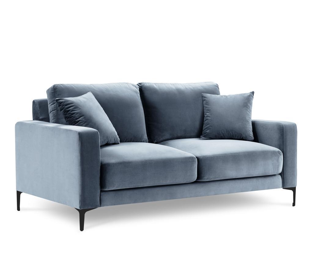 Canapea 2 locuri Harmony Light Blue