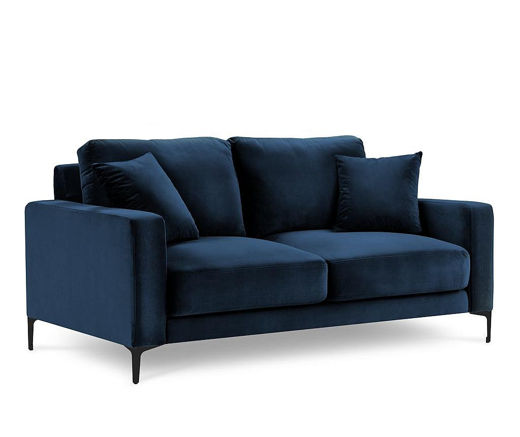 Canapea 2 locuri Harmony Dark Blue